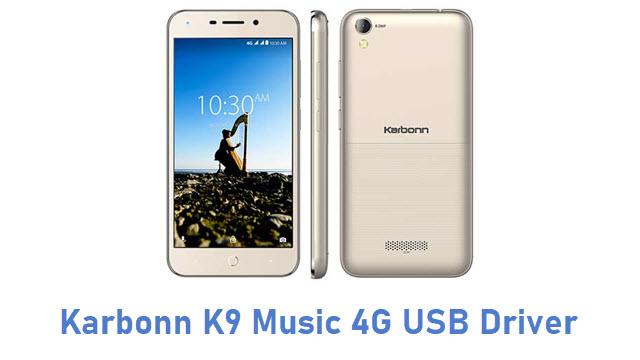 Karbonn K9 Music 4G USB Driver