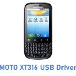 MOTO XT316 USB Driver