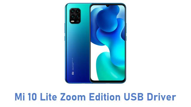 Mi 10 Lite Zoom Edition USB Driver