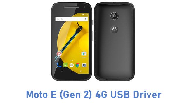 Moto E (Gen 2) 4G USB Driver