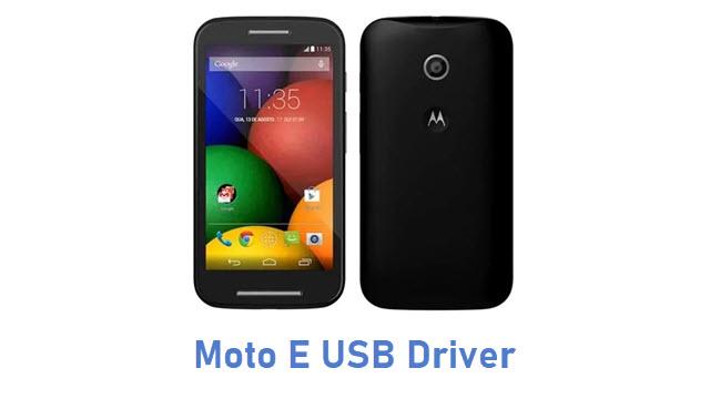 Moto E (2015) USB Driver