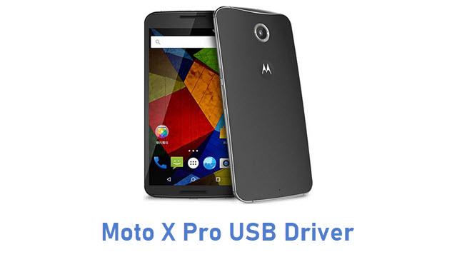 Moto X Pro USB Driver