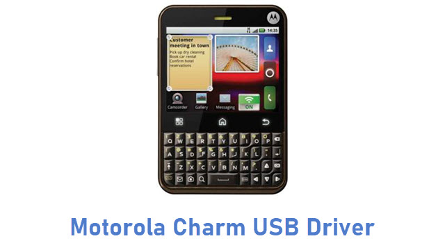 Motorola Charm USB Driver