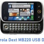 Motorola Dext MB220 USB Driver