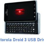Motorola Droid 3 USB Driver