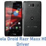 Motorola Droid Razr Maxx HD USB Driver