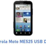 Motorola Moto ME525 USB Driver