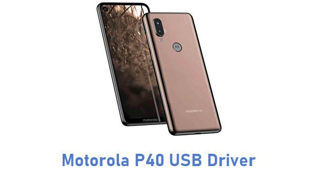 Motorola P40 USB Driver