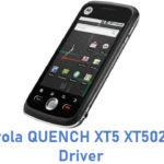 Motorola QUENCH XT5 XT502 USB Driver