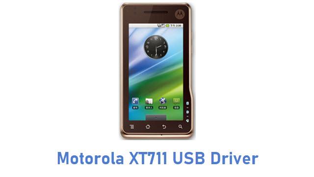 Motorola XT711 USB Driver
