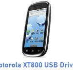 Motorola XT800 USB Driver