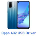 Oppo A32 USB Driver