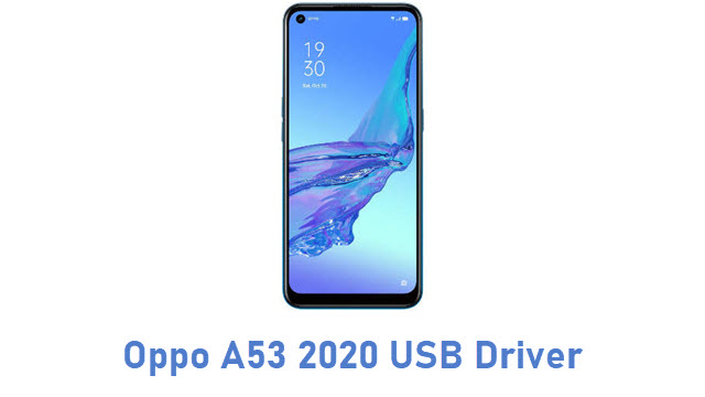 Oppo A53 2020 USB Driver