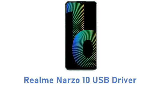 Realme Narzo 10 USB Driver