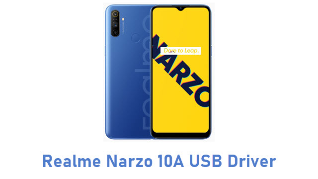 Realme Narzo 10A USB Driver