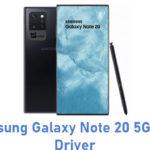 Samsung Galaxy Note 20 5G USB Driver