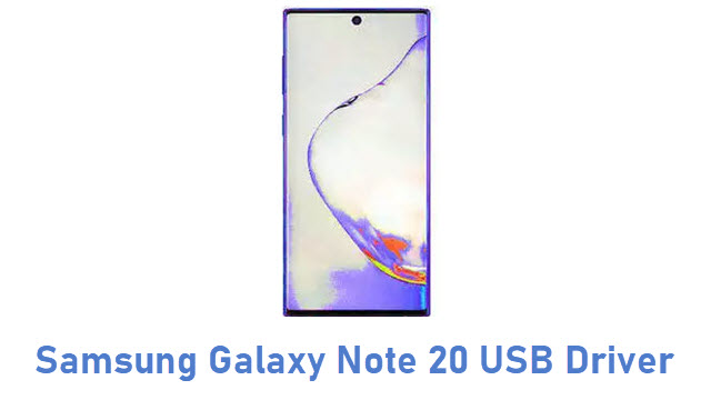 Samsung Galaxy Note 20 USB Driver