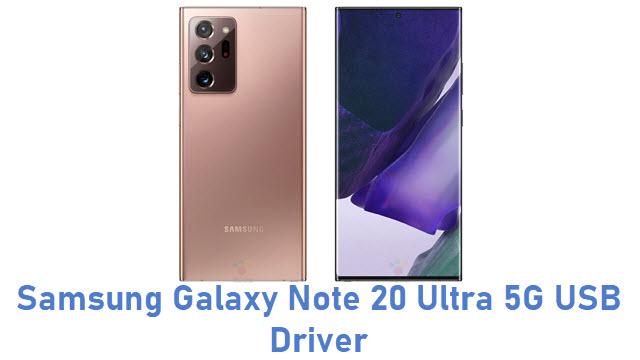 Samsung Galaxy Note 20 Ultra 5G USB Driver
