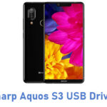 Sharp Aquos S3 USB Driver