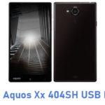 Sharp Aquos Xx 404SH USB Driver