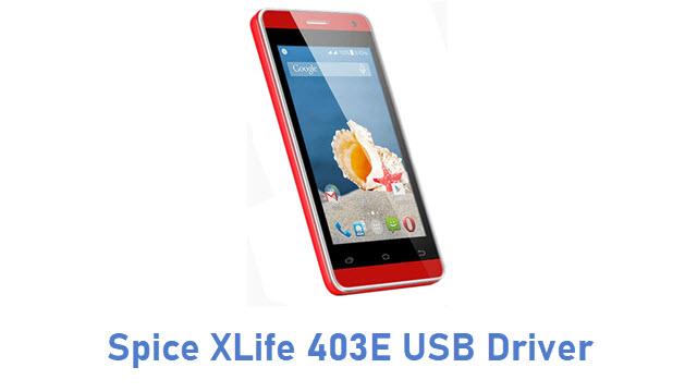 Spice XLife 403E USB Driver