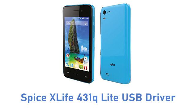 Spice XLife 431q Lite USB Driver