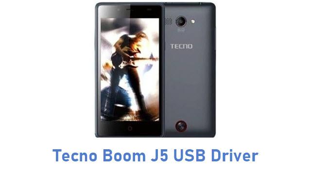 Tecno Boom J5 USB Driver