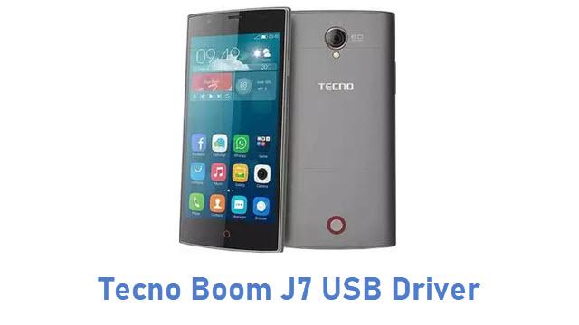Tecno Boom J7 USB Driver