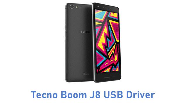 Tecno Boom J8 USB Driver