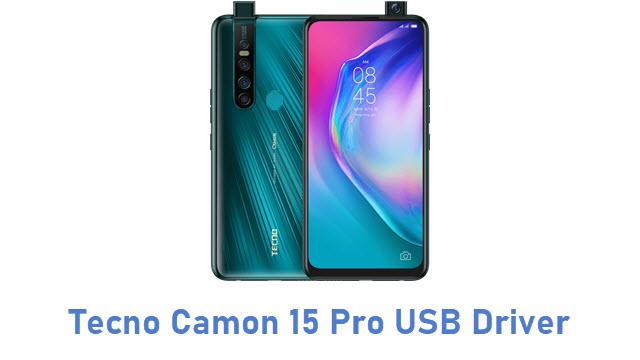 Tecno Camon 15 Pro USB Driver