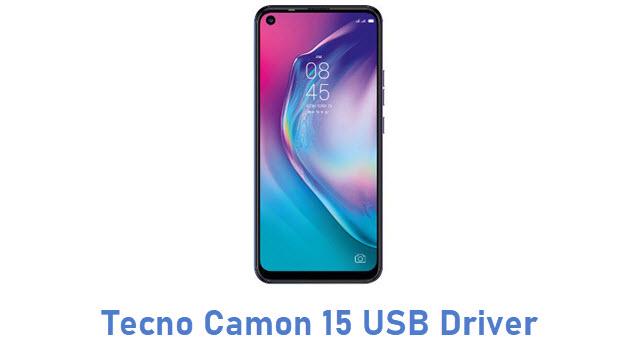 Tecno Camon 15 USB Driver