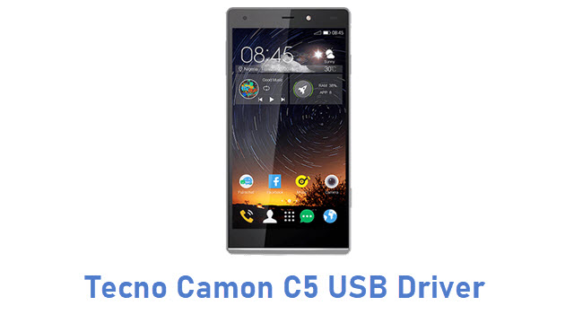 Tecno Camon C5 USB Driver