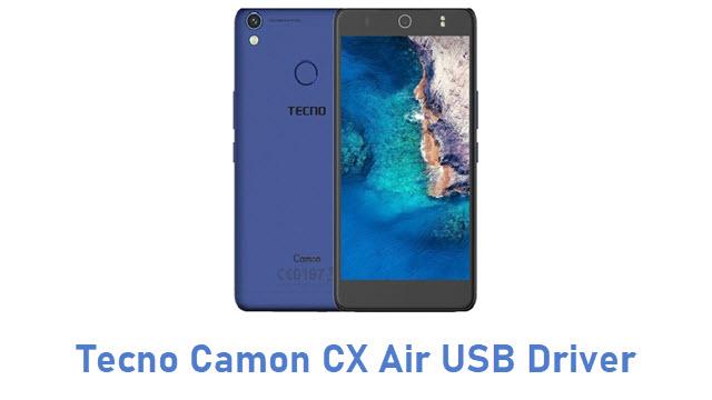 Tecno Camon CX Air USB Driver