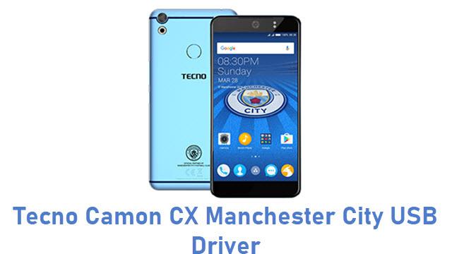 Tecno Camon CX Manchester City USB Driver