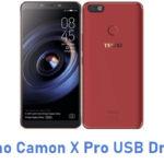 Tecno Camon X Pro USB Driver