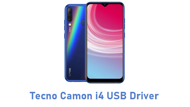 Tecno Camon i4 USB Driver