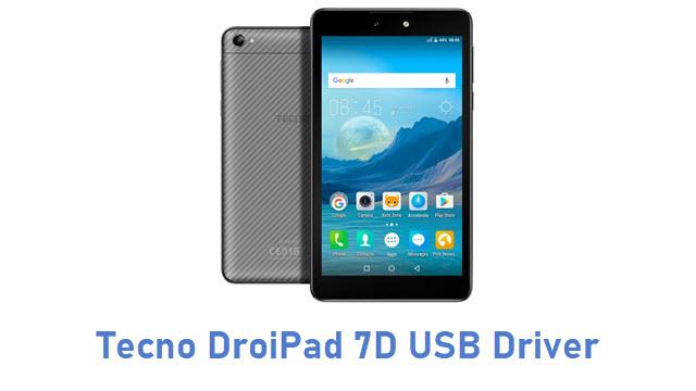 Tecno DroiPad 7D USB Driver