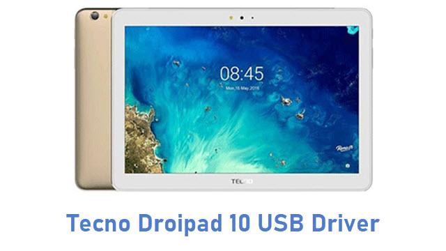 Tecno Droipad 10 USB Driver