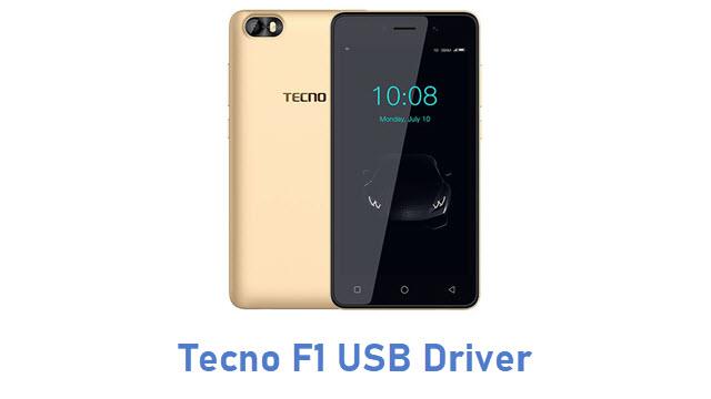 Tecno F1 USB Driver