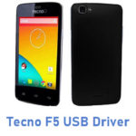 Tecno F5 USB Driver