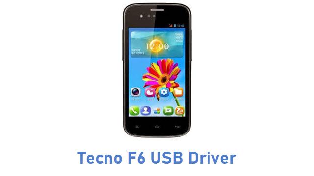 Tecno F6 USB Driver