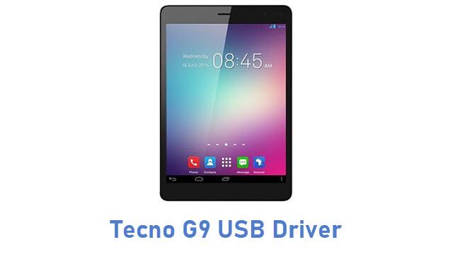 Tecno G9 USB Driver