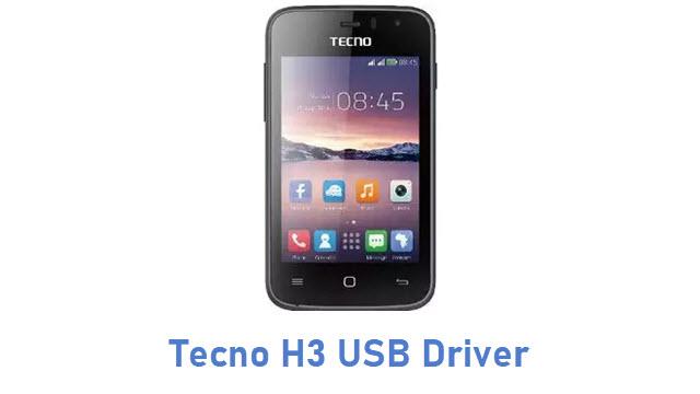 Tecno H3 USB Driver