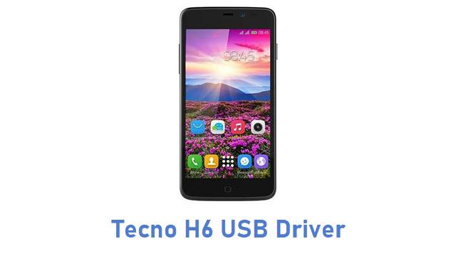 Tecno H6 USB Driver