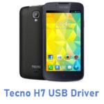 Tecno H7 USB Driver