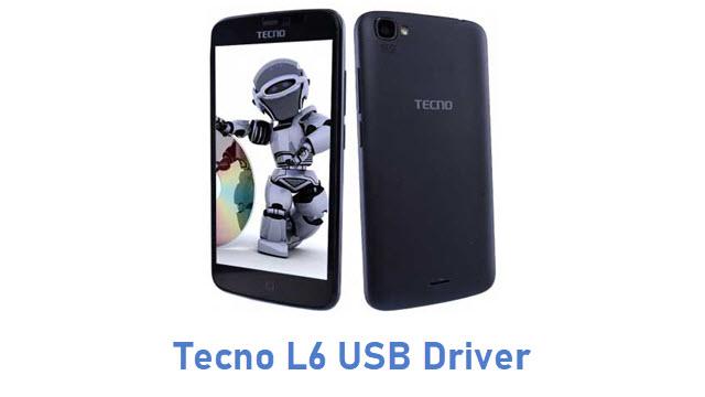 Tecno L6 USB Driver