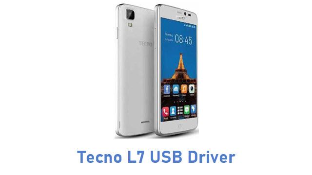 Tecno L7 USB Driver
