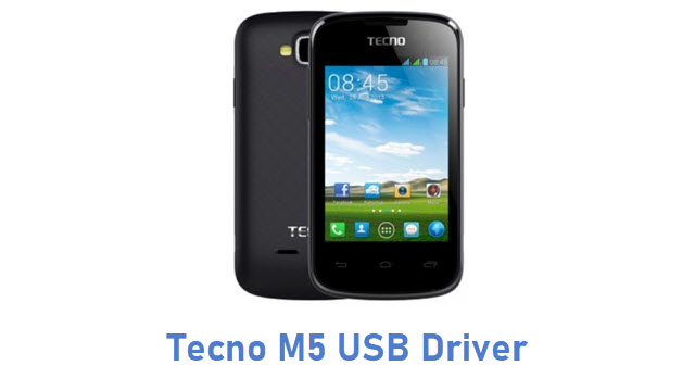 Tecno M5 USB Driver
