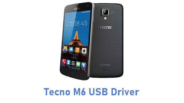 Tecno M6 USB Driver