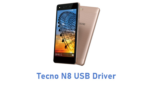 Tecno N8 USB Driver